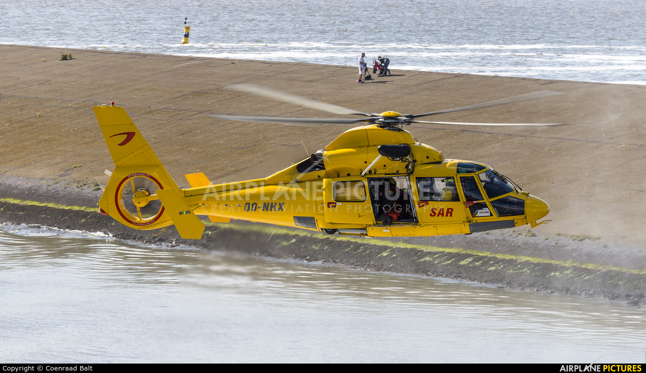 NHV - Noordzee Helikopters Vlaanderen OO-NHX aircraft at Off Airport - Netherlands