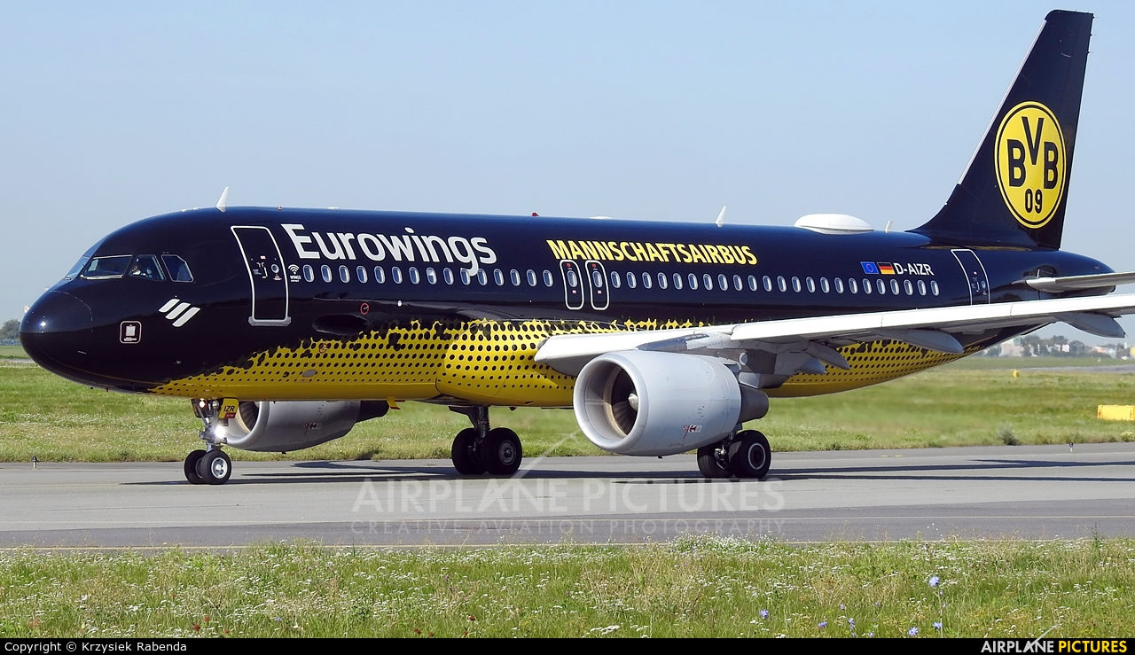Eurowings D-AIZR aircraft at Warsaw - Frederic Chopin