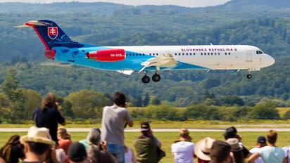 OM-BYB - Slovakia -  Air Force Fokker 100