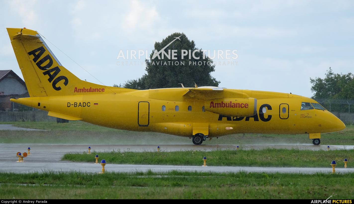ADAC Luftrettung D-BADC aircraft at Lviv Danylo Halytskyi International Airport (Lwów Skniłów)