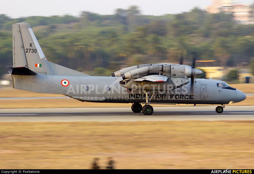 India - Air Force K2730 aircraft at Yelahanka AFB
