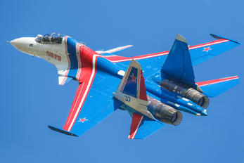 RF-81722 - Russia - Air Force Sukhoi Su-30SM