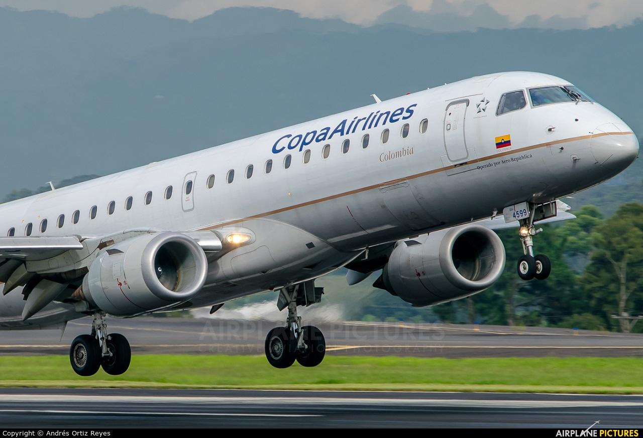 Copa Airlines Colombia HK-4599 aircraft at San Jose - Juan Santamaría Intl