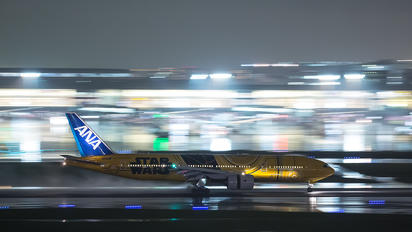 JA743A - ANA - All Nippon Airways Boeing 777-200