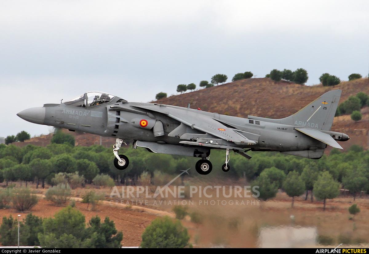 Spain - Navy VA.1B-37 aircraft at Madrid - Torrejon