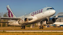 A7-AHD - Qatar Airways Airbus A320 aircraft