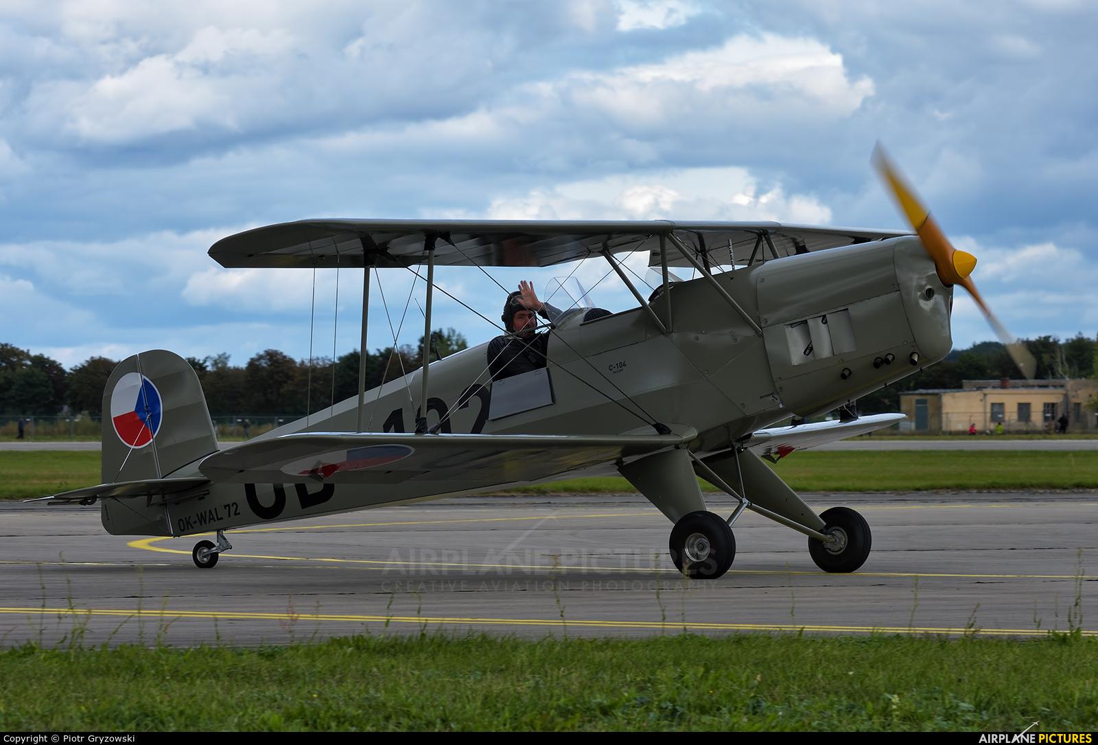 Private OK-WAL 72 aircraft at Hradec Králové