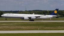 D-AIHE - Lufthansa Airbus A340-600 aircraft