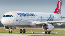 TC-JTE - Turkish Airlines Airbus A321 aircraft
