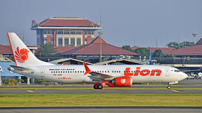 PK-LQH - Lion Airlines Boeing 737-8 MAX