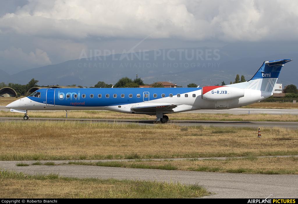 BMI Regional G-RJXB aircraft at Verona - Villafranca