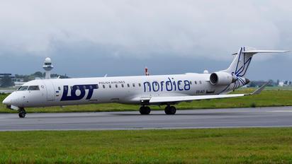ES-ACI - LOT - Polish Airlines Bombardier CRJ 900ER