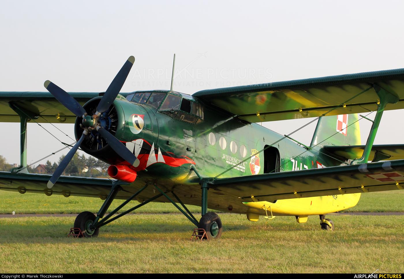 Museum of Polish Aviation SP-MLP aircraft at Radom - Sadków
