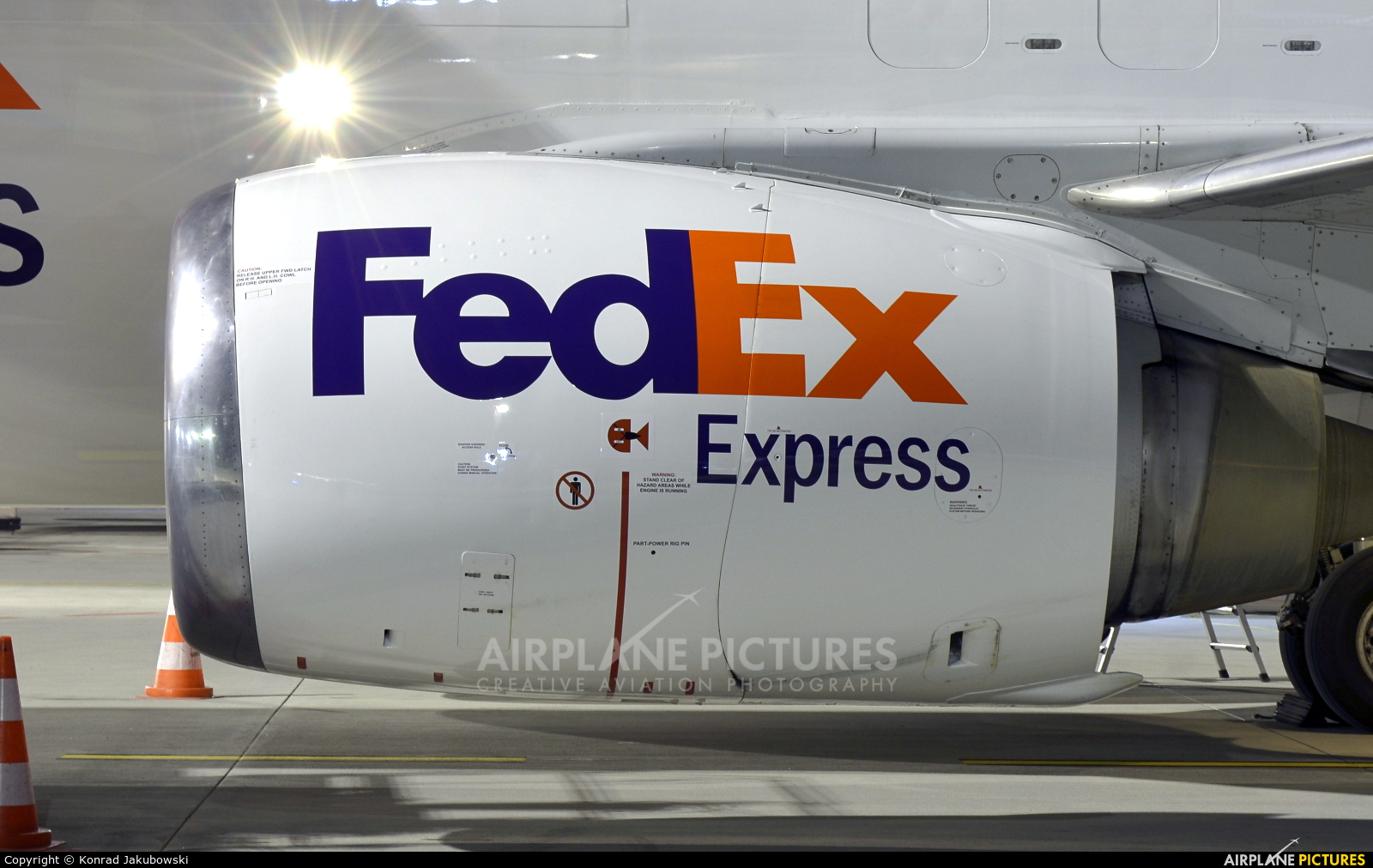 FedEx Federal Express OO-TNN aircraft at Katowice - Pyrzowice