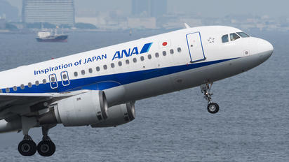 JA8313 - ANA - All Nippon Airways Airbus A320