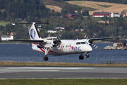 First flight of FlyViking to Trondheim title=