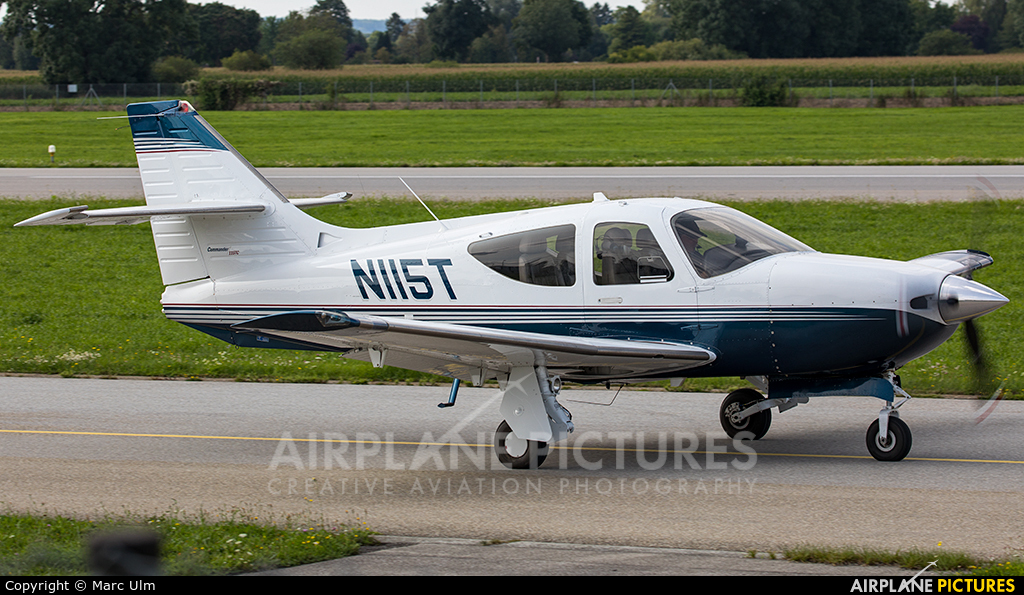 Private N115T aircraft at Augsburg