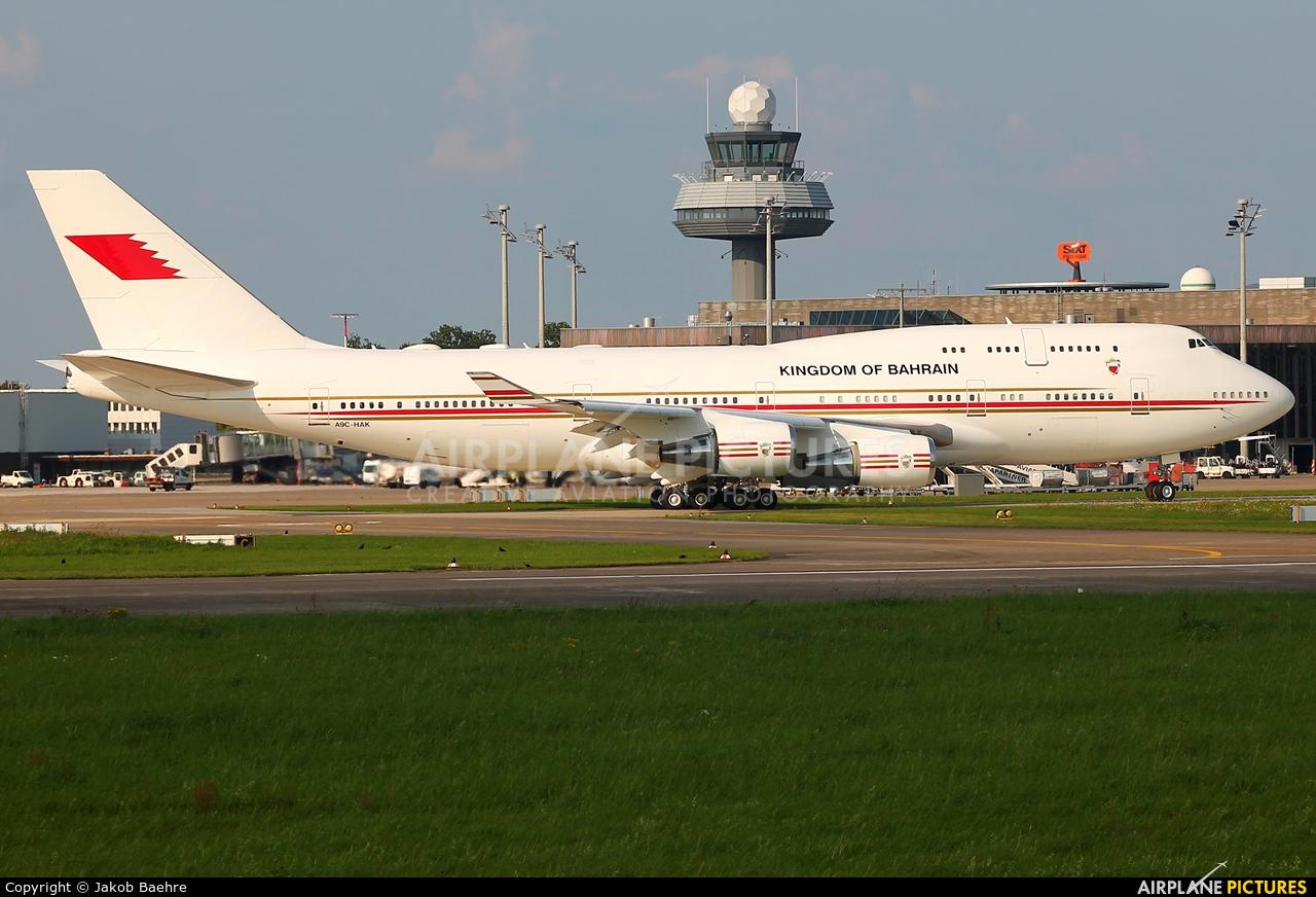 Bahrain Amiri Flight A9C-HAK aircraft at Hannover - Langenhagen
