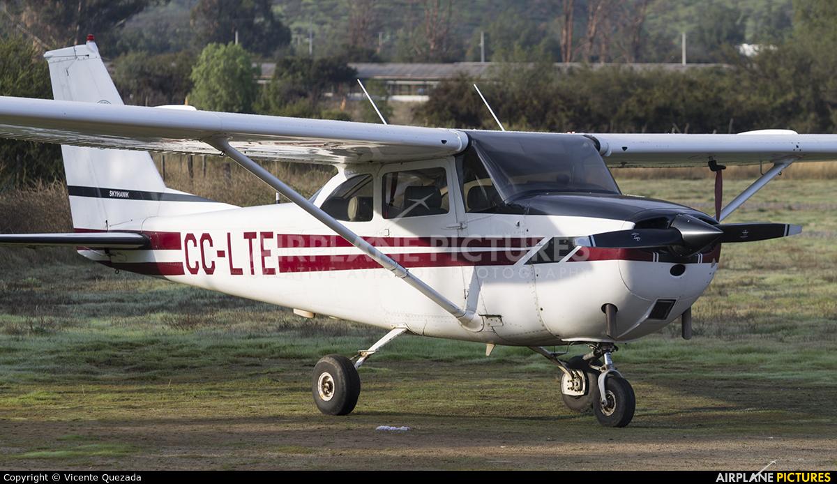 Private CC-LTE aircraft at Aeródromo Curacaví