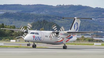 LN-FVA - FlyViking de Havilland Canada DHC-8-100 Dash 8