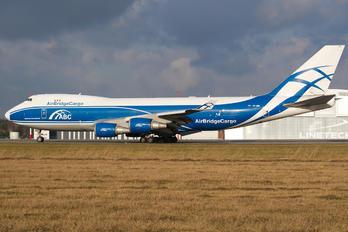 VP-BIM - Air Bridge Cargo Boeing 747-400F, ERF