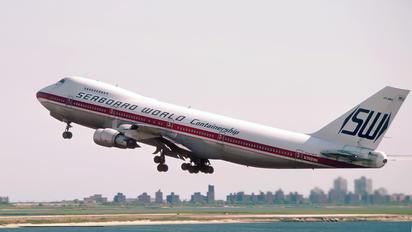 N748WA - Seaboard World Boeing 747-200F