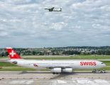 HB-JMA - Swiss Airbus A340-300 aircraft