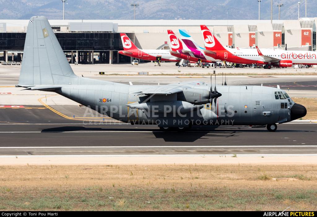 Spain - Air Force TK.10-12 aircraft at Palma de Mallorca