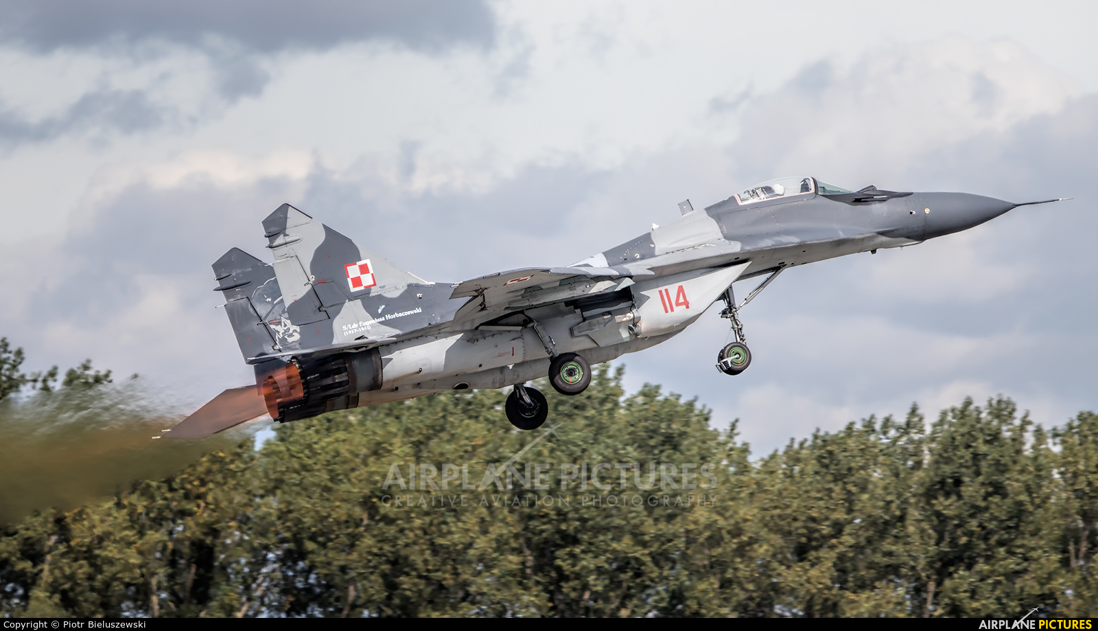 Poland - Air Force 114 aircraft at Poznań - Krzesiny