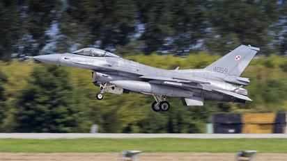 4059 - Poland - Air Force Lockheed Martin F-16C Jastrząb