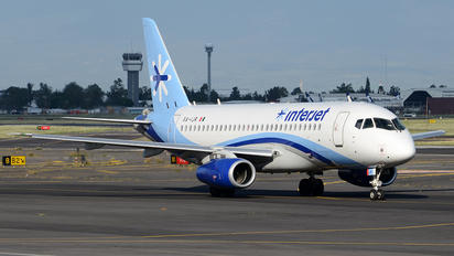 XA-IJR - Interjet Sukhoi Superjet 100