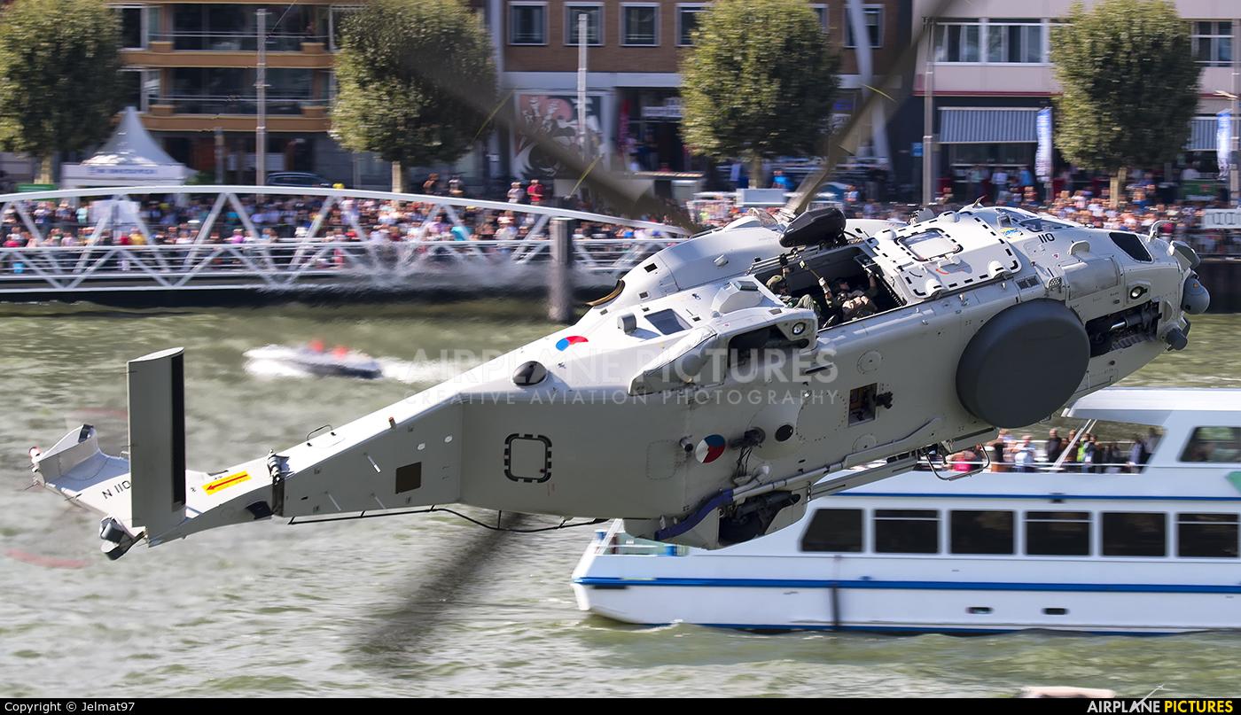 Netherlands - Navy N-110 aircraft at Rotterdam