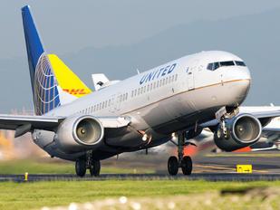 N54241 - United Airlines Boeing 737-800