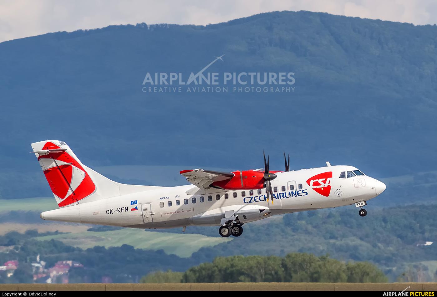 CSA - Czech Airlines OK-KFN aircraft at Košice - Barca