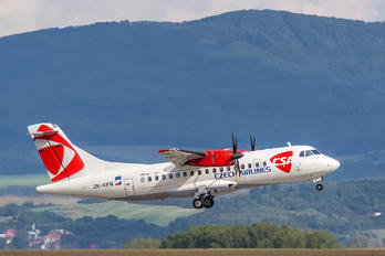 OK-KFN - CSA - Czech Airlines ATR 42 (all models)