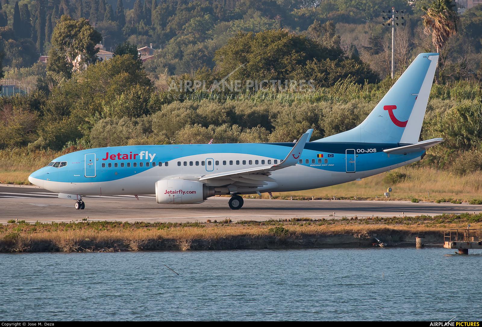Jetairfly (TUI Airlines Belgium) OO-JOS aircraft at Corfu - Ioannis Kapodistrias