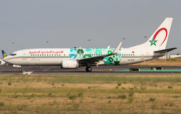 CN-RGG - Royal Air Maroc Boeing 737-800