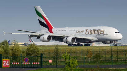 A6-EUN - Emirates Airlines Airbus A380