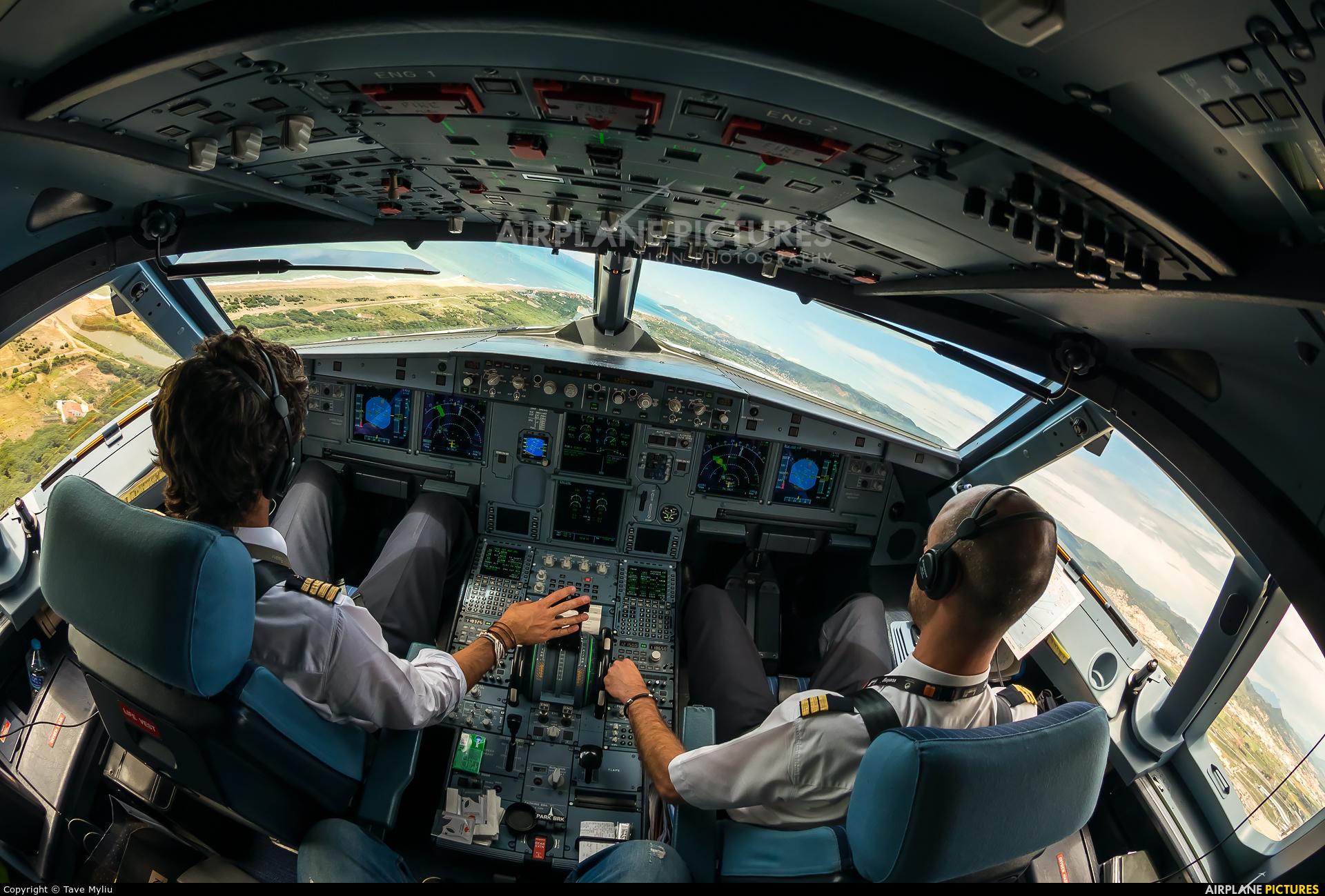 Vueling Airlines EC-MRF aircraft at Barcelona - El Prat