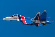 """RF-81722 - Russia - Air Force """"Russian Knights"""" Sukhoi Su-30SM aircraft"""