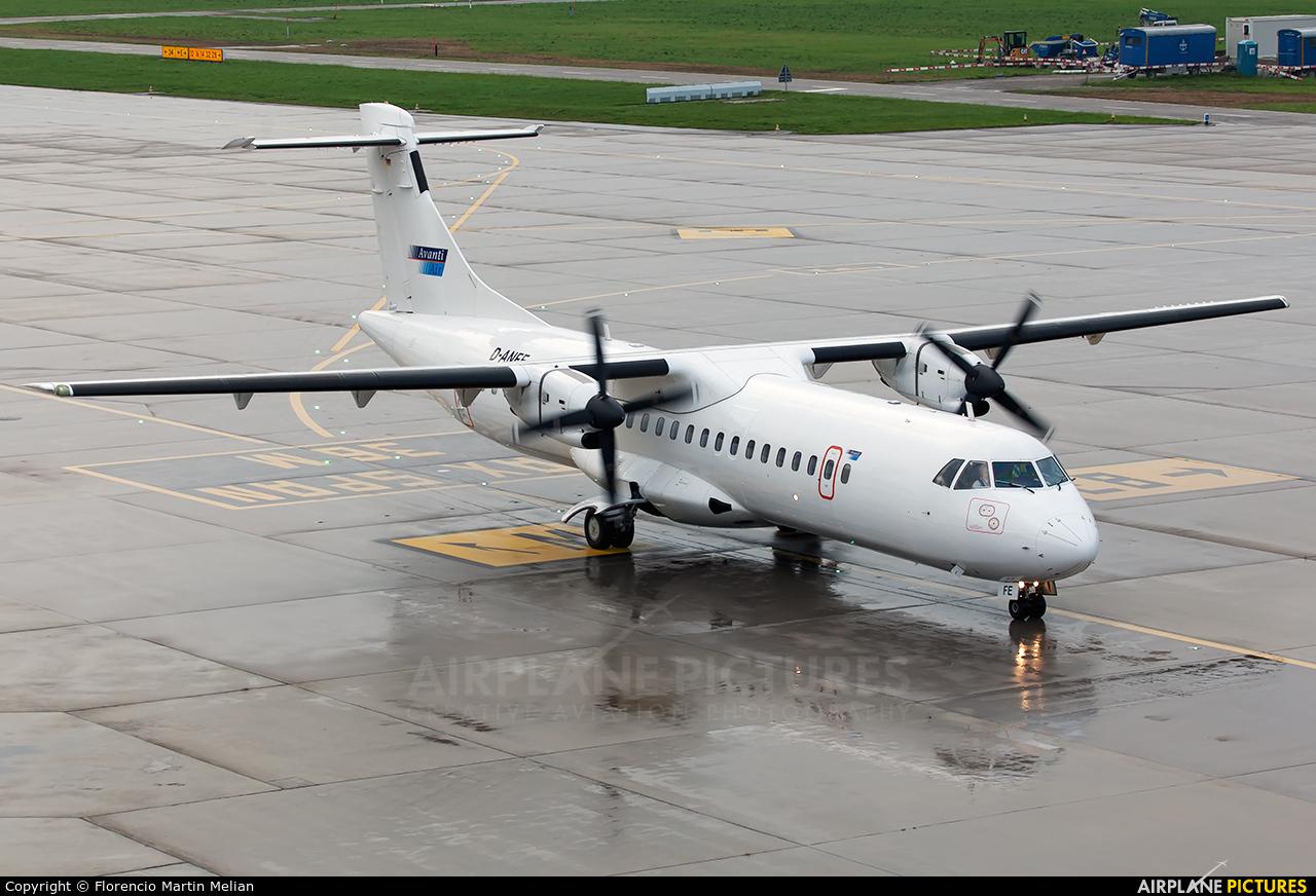 AvantiAir D-ANFE aircraft at Zurich