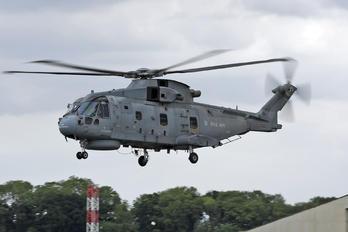 ZH854 - Royal Navy Agusta Westland AW101 111 Merlin HM.2