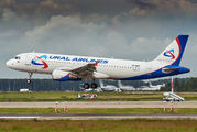 VP-BMT - Ural Airlines Airbus A320 aircraft