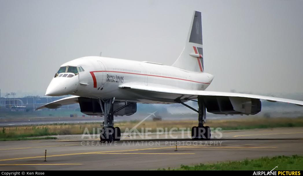 British Airways G-BOAE aircraft at New York - John F. Kennedy Intl