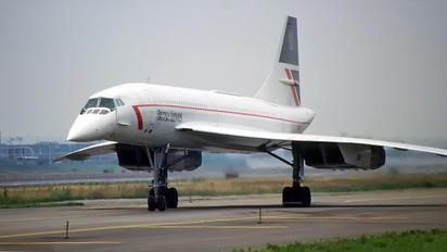 G-BOAE - British Airways Aerospatiale-BAC Concorde