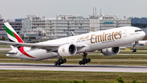 A6-EBA - Emirates Airlines Boeing 777-300ER aircraft