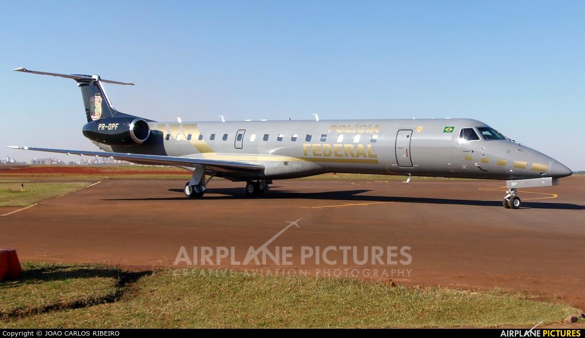 Brazil - Federal Police PR-DPF aircraft at Municipal Airport Cascavel