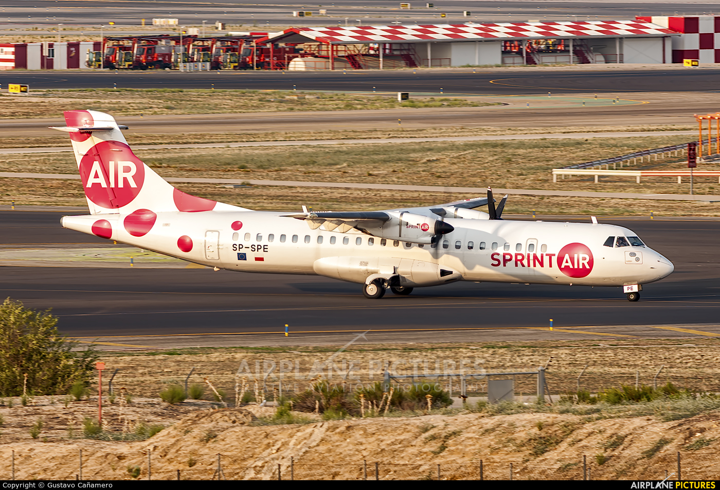 Sprint Air SP-SPE aircraft at Madrid - Barajas