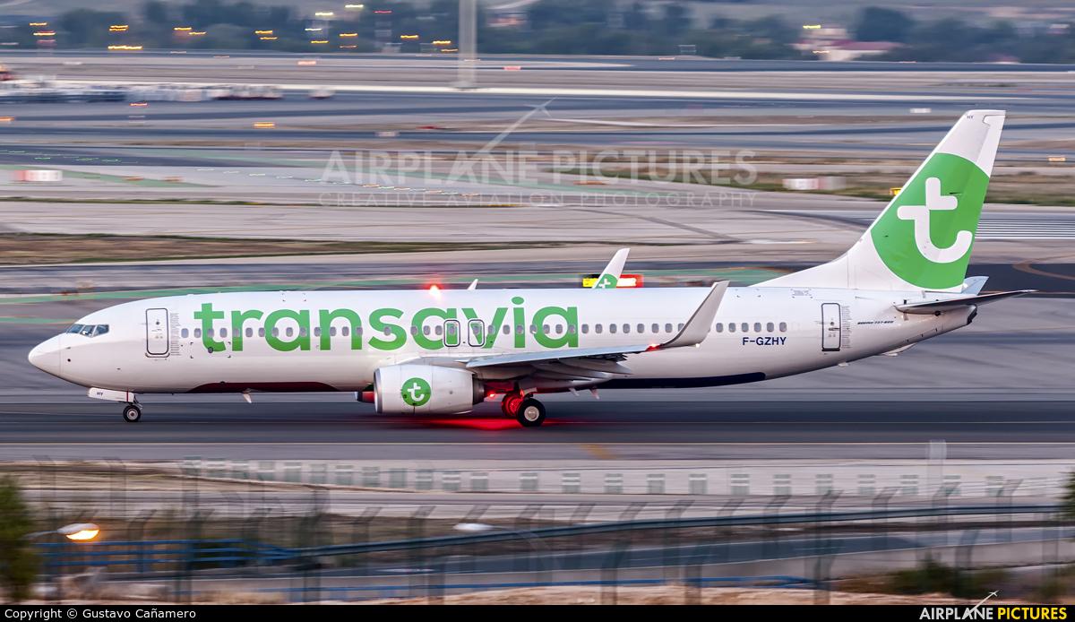 Transavia France F-GZHY aircraft at Madrid - Barajas