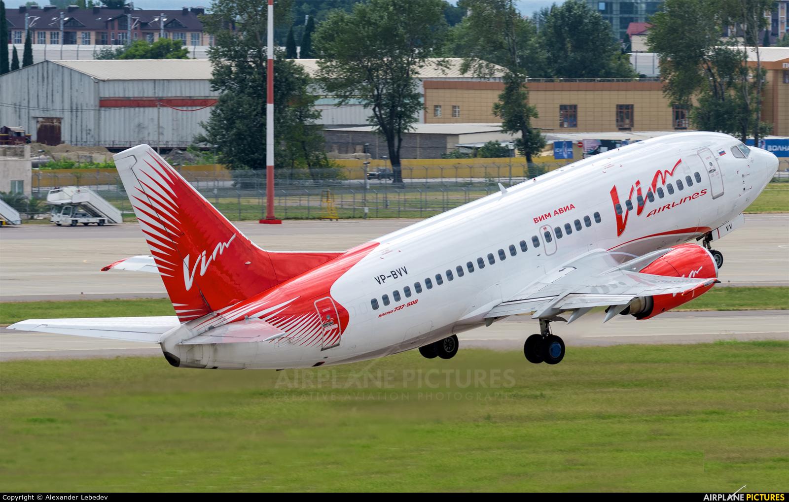 Vim Airlines VP-BVV aircraft at Sochi Intl
